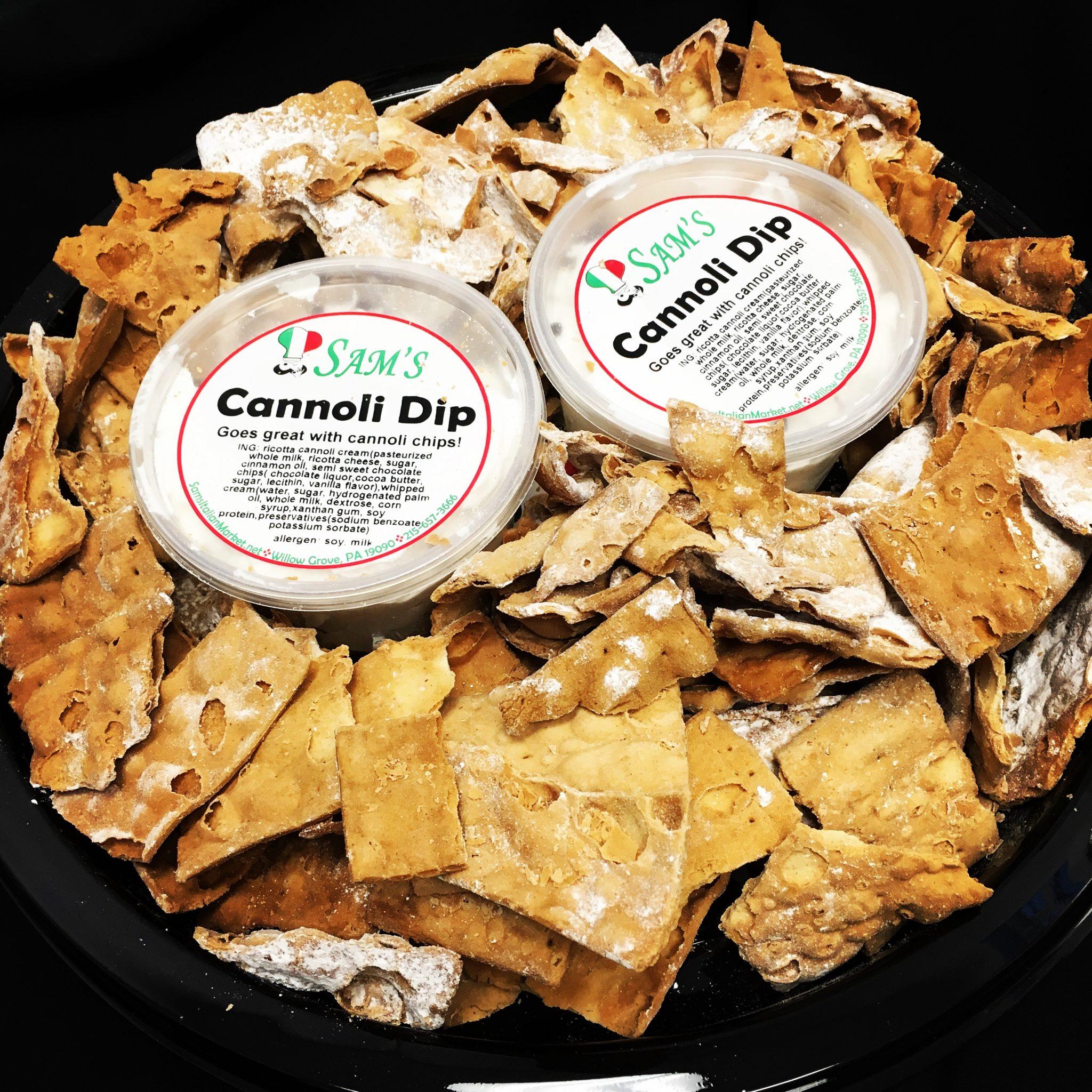 Cannoli Dip Tray
