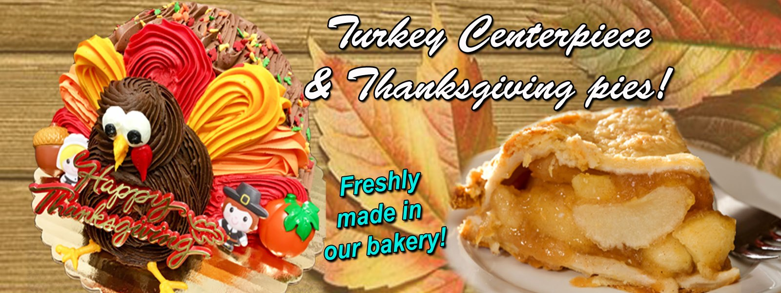 Thanksgiving Pies & Cakes!